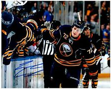 Buffalo Sabres LUKE ADAM Signed Autographed 8x10 Pic D