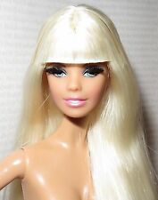 (C) NUDE BARBIE (C~ BLONDE BLUE EYES APHRODITE THE LOOK MODEL MUSE DOLL FOR OOAK