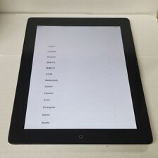 GOOD Condition Apple iPad 4th Generation 4G + WiFi (Sprint) 64GB Black