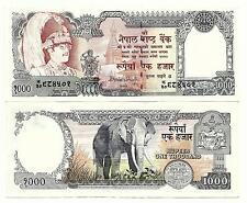 Népal 1000 1.000 roupies 1981-sign 12 unc p 36 C