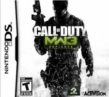 Call Of Duty: Modern Warfare 3 For Nintendo DS DSi 3DS Brand New