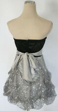 RUBY ROX Black Silver Homecoming Prom Party Dress 11