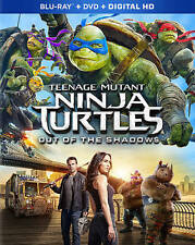 DVD: Teenage Mutant Ninja Turtles: Out Of The Shadows [Blu-ray], Dave Greeen. Go
