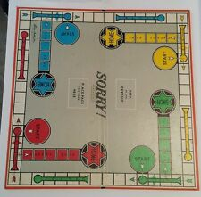 Replacement Vintage 1964 SORRY Game Board Only - Parker Brothers UVC Family Game