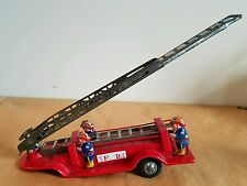 Vintage Child's Toy Fire Truck/Ladder Truck All Metal