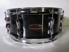"Yamaha Stage Custom Snare Drum - 14 X 5.5"" - Raven Black - 8 Lugs - Birch Shell"