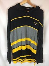 Vintage Polo Sport Long Sleeve Polo Size Large L Ralph Lauren Rap Rock 90s Retro