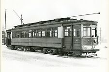 6CC725 1940s/70s? CHICAGO SURFACE LINES CAR 213 74th & ASHLAND