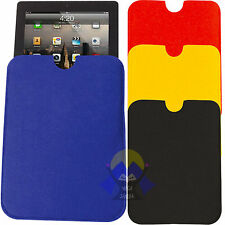 Custodia PC Cover TABLET Back SOFT CASE Guscio PORTA Ultra SLIM in Feltro HEAD