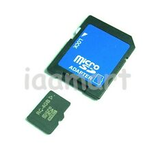4GB Micro SD TransFlash TF MicroSD Memory Card +Adapter