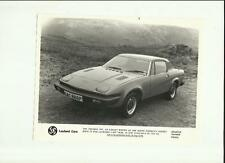 TRIUMPH TR7  PRESS PHOTO  'BROCHURE CONNECTED' FOR PUBLICATION MAY 1976