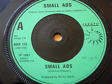 "SMALL ADS - SMALL ADS  7"" VINYL"