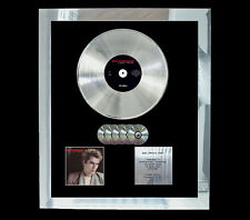 NIK KERSHAW HUMAN RACING  MULTI (GOLD) CD PLATINUM DISC FREE SHIPPING TO U.K.