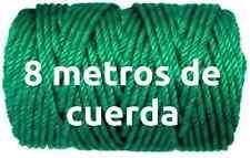 8 METROS DE CUERDA TENDER 5MM EN VERDE tendedero ropa para poleas cuerdas ropas