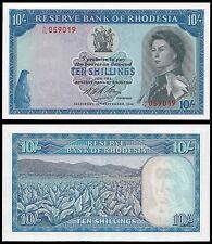Rhodesia 10 Shillings 10.9.1968 P 27b UNC