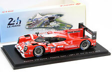 Porsche 919 Hybrid #17 2nd 24h LeMans 2015 Bernhard, Hartley, Webber 1:43 Spark
