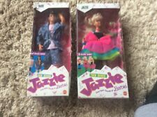 BARBIE DOLL 1988 HIGH SCHOOL JAZZIE  AND DUDE