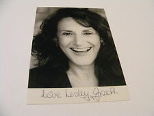 LESLEY JOSEPH Signed Photo Autograph TV Comedy Actress Birds of a Feather