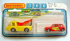 "Matchbox TwoPack 6B ""Breakdown Set"" Tow Joe & Racing Mini mit center-cut Rädern"
