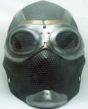 "Army of Two ""Thane 2"" Black Metal Custom Fiberglass Paintball / Airsoft Mask"