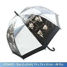 UMBRELLA /BROLLY THE BEATLES / FAB FOUR DOME BUBBLE RAIN- UNISEX-