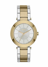NEW DKNY NY2334 Stanhope Women's Two Tone Stainless Steel Watch