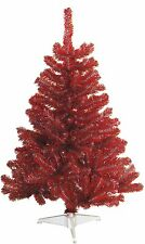 Ohio State Buckeyes Scarlet & Gray 4FT Christmas Tree, Team Colored Artificial