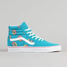 NEW Vans x Odd Future OF Donut Sk8-Hi  Scuba Blue Pink White Supreme Shoes 10.5