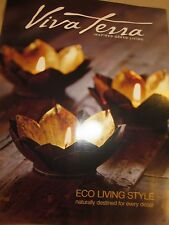 VIVA TERRA FALL 2015 CATALOG ECO LIVING STYLE INSPIRED GREEN LIVING BRAND NEW