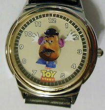 Disney Store Fossil 1996 Toy Story Picasso Mr. Potato Head Lunch box Watch  NEW