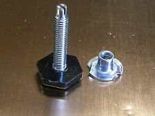 8 Levelers (Medium) for Furniture and Cabinets with T-Nuts