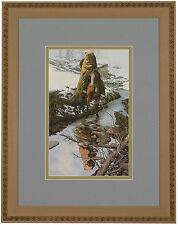 "Bev Doolittle ""Spirit of the Grizzly"" Matted & Framed Art Print"