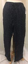 GAP Women's Blue Polka A Dot PJ Pants M 32-34