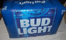 Bud Light Beer Logo Inflatable Blow Up 24 Can Pack Blue White Large Seat Promo