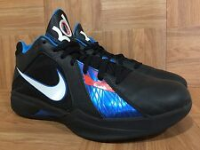 RARE�� Nike Zoom KD 3 III OKC Thunder Black Photo Blue Team Orange 11 417279-001