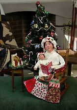Byers Choice Mother w/Toddler on Rocker Rocking Chair Night Before Christmas