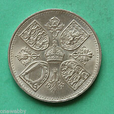 1953 - Elizabeth II - Crown - UNC - Coronation crown - SNo38341