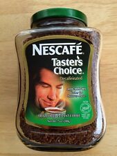 Nescafe Tasters Choice Kosher For Passover Instant Decaf Decaffeinated Coffee
