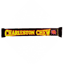 Charleston Chew Chocolate - 4ct Bar - Chewy Flavored Nougat  FREE SHIPPING
