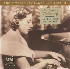 Rosalyn Tureck Collection 2,the Young Visionary/bach Recital  CD NEW