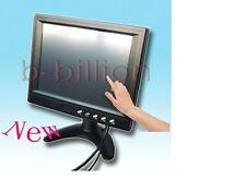 "8"" Auto Reverse CCTV Display AV RCA VGA POS Touch Screen LED TFT LCD Monitor US"