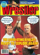 1990 The Wrestler Magazine: Lex Luger & Sting Rivalry/Beefcake Boating Accident