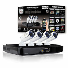 Night Owl 8 Channel HD 1080P 4 Camera Video Security Monitor System DVR