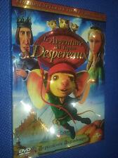 cofanetto+DVD nuovo animazione le avventure del topolino despereaux cartoon