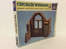 Vintage Italeri 1/35 Accessories 408 Church Window Plastic Kit Dioramas/Wargames