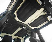 Black 4Pcs Hard-Top Heat Insulation Sound Deadener For Jeep Wrangler 2 Door B#