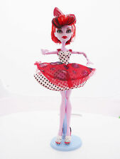 POUPÉE MONSTER-ROUGE-OPERETTA- HIGH-27 cm-COLLECTION-COMME NEUVE-