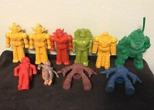 Lot Of 10 Vintage Robot Pencil Toppers Gum Ball Machine Price Toy Alien