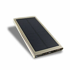 50000mAH External Portable Dual USB Solar Battery Charger Power Bank For iPhone6