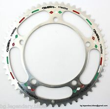 Vintage GIPIEMME CHAINRING Record Style 144 bcd Panto Engraved WILIER 54T